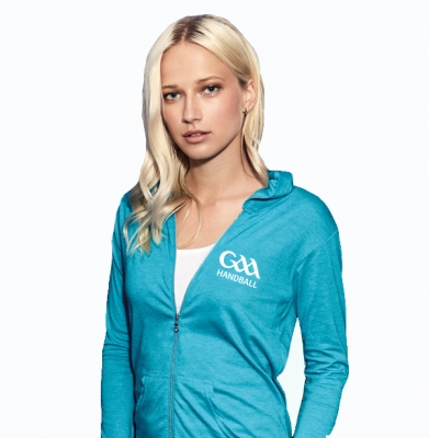Ladies Blue Full Zip